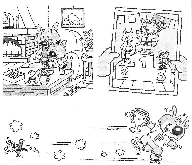 Coloriage mini loup gratuit - Mini loup coloriage ...
